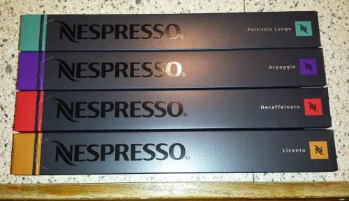 nespresso pod sleeves